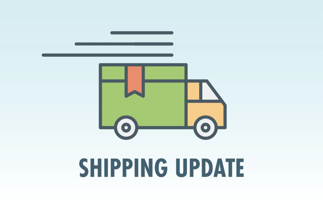 Shipment Update for Batch ETA END SEPT / MID OCT